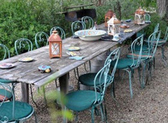 Anche Nel Vostro Giardino Di Casa Si Può Realizzare Un Ambiente Incantato,  Facendo U201cfintau201d Che Non Siete A Casa, Al Contrario Dei Due Esempi Sopra.